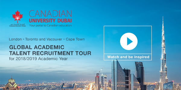 Canadian University Dubai Global Academic Talent Search